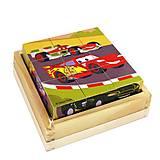 Деревянные кубики «Дисней», 9 штук, C-9-CAR