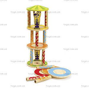 Деревянная головоломка-балансир Crazy Tower, 897660