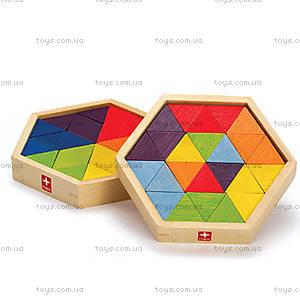 Деревянная игрушка-головоломка Mixed Puzzles, 897955