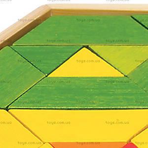 Деревянная игрушка-головоломка Mosaic Puzzle, 897537, купить