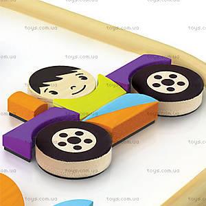 Деревянная головоломка на магнитах Magnetic Vehicles, 897652, купить