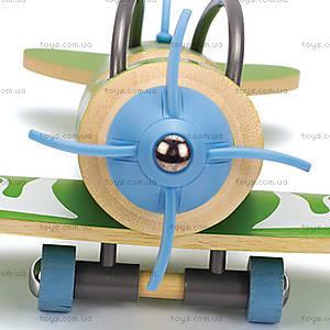 Деревянный самолет из бамбука E-Plane, 897771, фото