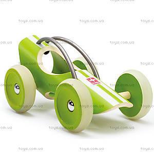 Деревянная игрушка-машинка E-Racer Suzuka, 897951