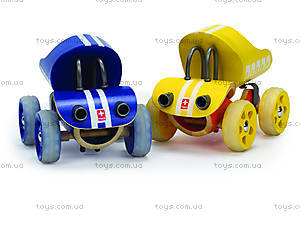 Деревянная игрушка-машинка E-Truck, 821517