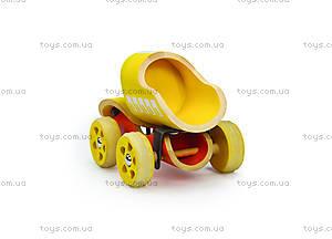 Деревянная игрушка-машинка E-Truck, 821517, купить