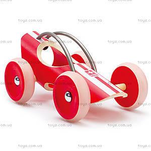 Деревянная игрушка-машинка E-Racer Monza, 897952