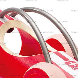 Деревянная игрушка-машинка E-Racer Monza, 897952, фото
