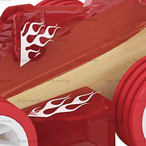 Деревянная машинка из бамбука Racer, 897964, фото