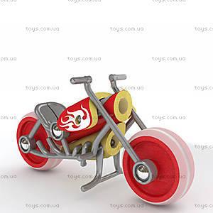 Деревянная игрушка-мотоцикл из бамбука E-Chopper, 897781, купить