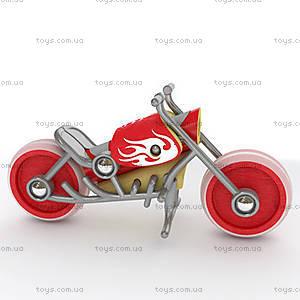Деревянная игрушка-мотоцикл из бамбука E-Chopper, 897781, фото