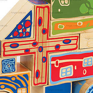 Набор для конструирования фигур Bamboo Blocks, 897716, фото
