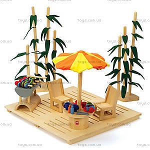 Деревянный набор мебели ECO Garden Set, 897567