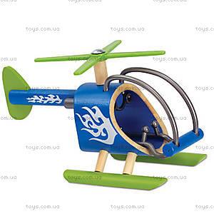 Деревянный вертолет из бамбука E-Helicopter, 897756