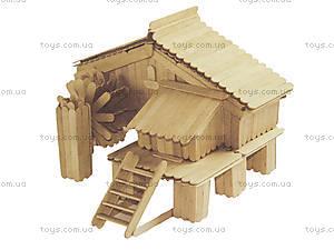 Творческий набор «Деревянный город: Мельница», А515003РУ, цена
