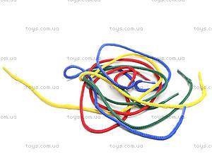 Деревянная детская игра «Шнуровка», 2594-19, toys.com.ua
