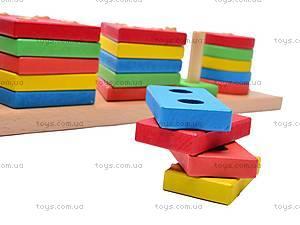 Деревянная геометрическая пирамида, W02-4444, купить