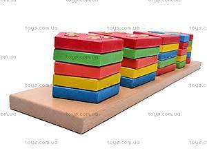Деревянная геометрическая пирамида, W02-4444, цена