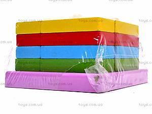 Деревянная геометрическая пирамидка, 2594-75, детские игрушки
