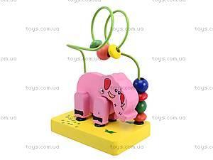 Деревянная головоломка «Животные», 5292, игрушки