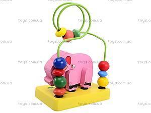 Деревянная головоломка «Животные», 5292, toys.com.ua