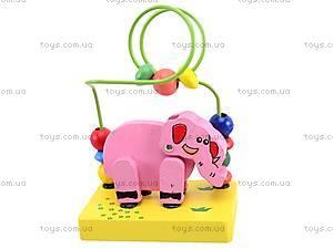 Деревянная головоломка «Животные», 5292, toys