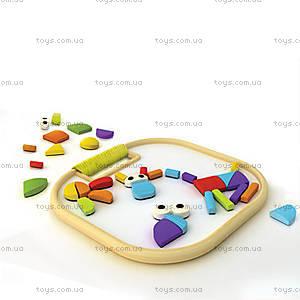 Деревянная головоломка на магнитах Magnetic Animals, 897786
