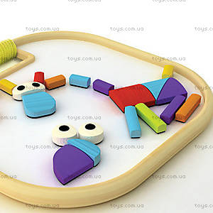 Деревянная головоломка на магнитах Magnetic Animals, 897786, цена