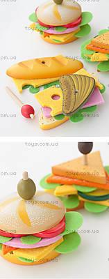 Деревянная игра «Бутерброд Эмили с оливкой», DJ06620, фото
