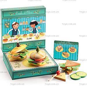 Деревянная игра «Бутерброд Эмили с оливкой», DJ06620