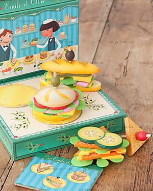 Деревянная игра «Бутерброд Эмили с оливкой», DJ06620, отзывы