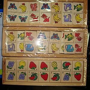 Деревянная игра «Домино», 2012-10