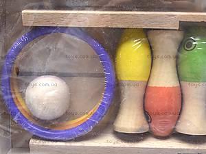 Деревянная игра «Кольцеброс», W02-1598, отзывы