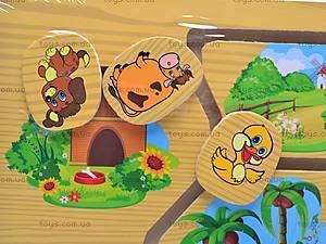 Деревянная игра «Кто где живет?», 1129-F, фото