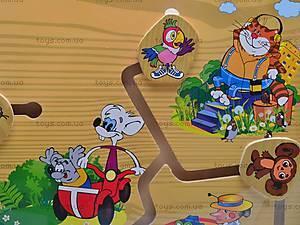 Деревянная игра «Любимые мультфильмы», B07147, фото
