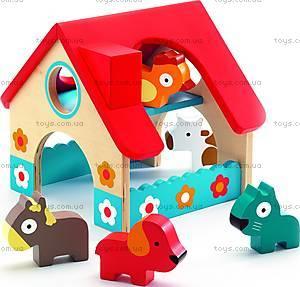 Деревянная игра «Маленькая Ферма», DJ06388
