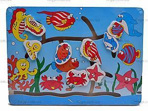 Деревянная игра «Морской лабиринт», W02-2040