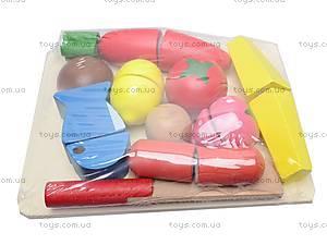 Деревянная игра «Резка овощей и фруктов», BT-WT-0052, фото