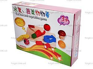 Деревянная игра «Резка овощей и фруктов», BT-WT-0052