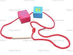 Деревянная игра-шнуровка, W02-3966, отзывы