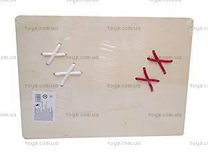 Деревянная игра-шнуровка «Ботинки», 2594-21, купить
