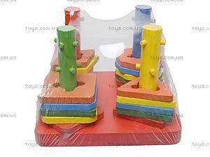 Деревянная игра-сортер, 5299, фото