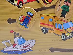 Деревянная игра «Транспорт», 1129-C, фото