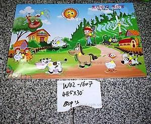 Деревянная игра-вкладыш «Ферма», W02-1607
