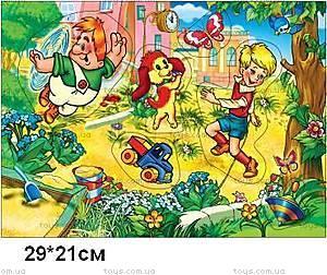 Деревянная игра-вкладыш «Карлсон», KRSN-1150