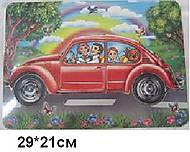 Деревянная игра-вкладыш «Машинка», CAR-4856