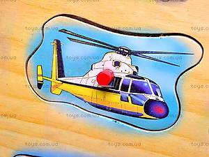 Деревянная игра-вкладыш «Транспорт», W02-2012, цена