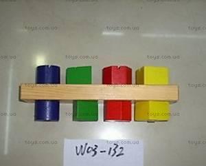 Деревянная игрушка «Геометрия», W02-1973/02-1