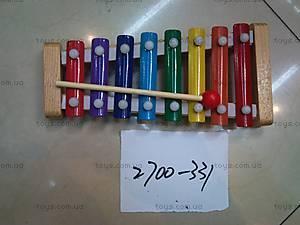 Деревянная игрушка «Ксилофон», 2700-331