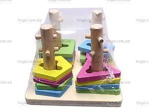 Деревянная игрушка «Квадрат», 2012-138