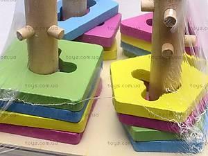 Деревянная игрушка «Квадрат», 2012-138, фото